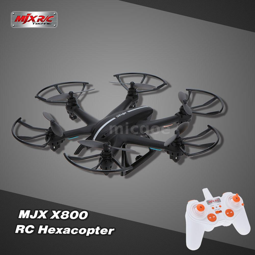 Mjx X800 24g 6 Axis Gyro One Key 3d Roll Gravity Sensor Rc Equipped With Precision Electronic Gyroscope To Stabilized Flying This Hexacopter Is Easy And Safe Fly It Features Flight 360 Degree Rotating Function A High Stabilization